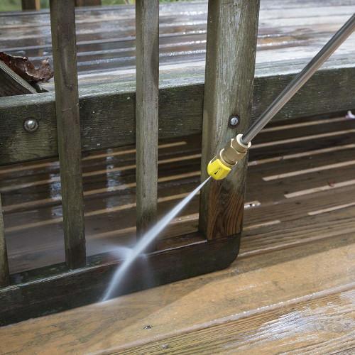 Sun Joe SPX 3000 spraying wood