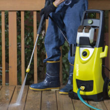 Sun Joe SPX 3000 cleaning floor